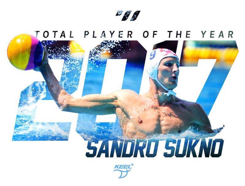 Sandro Sukno – Winner of the TOTAL PLAYER 2017 AWARD