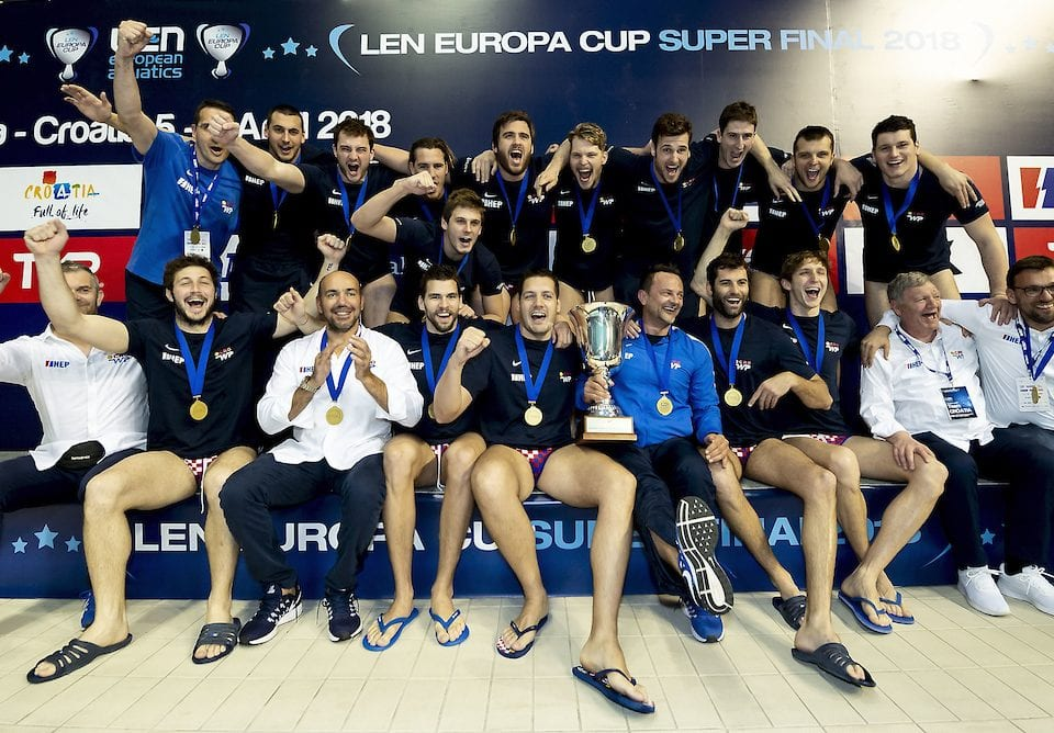 LEN Water Polo Europa Cup, Men's Super Final: Croatia Goes (Stays) Home With Gold