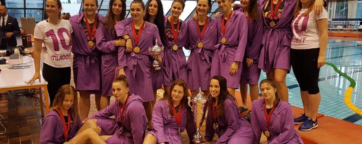 ŽAVK Mladost Is The Champion of Croatian Women's Championship