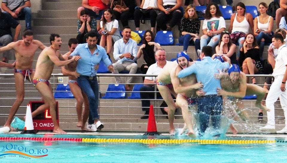 Romanian Water Polo — Steaua Is The Champion of The National Super League