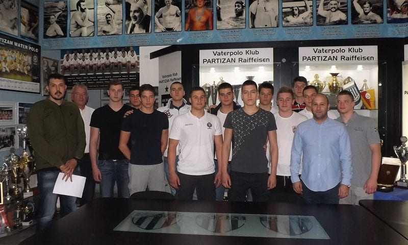 Serbian Water Polo — Partizan Thinks about Future with 14 New Contracts