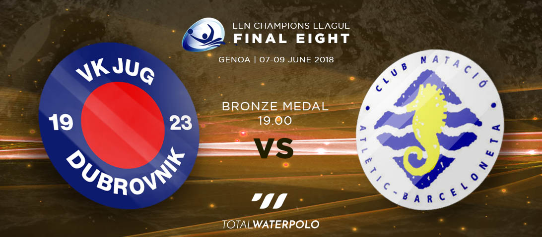 LEN Champions League 2018 Final Eight Genoa Bronze Medal match