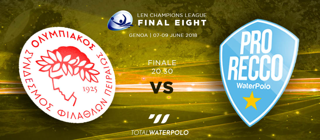 LEN Champions League 2018 Final Eight Genoa Finale