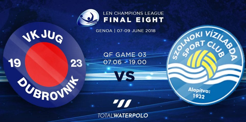 LEN Champions League 2018 Final Eight Genoa Quarterfinals 03