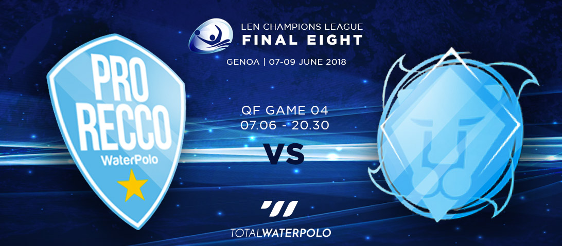 LEN Champions League 2018 Final Eight Genoa Quarterfinals 04