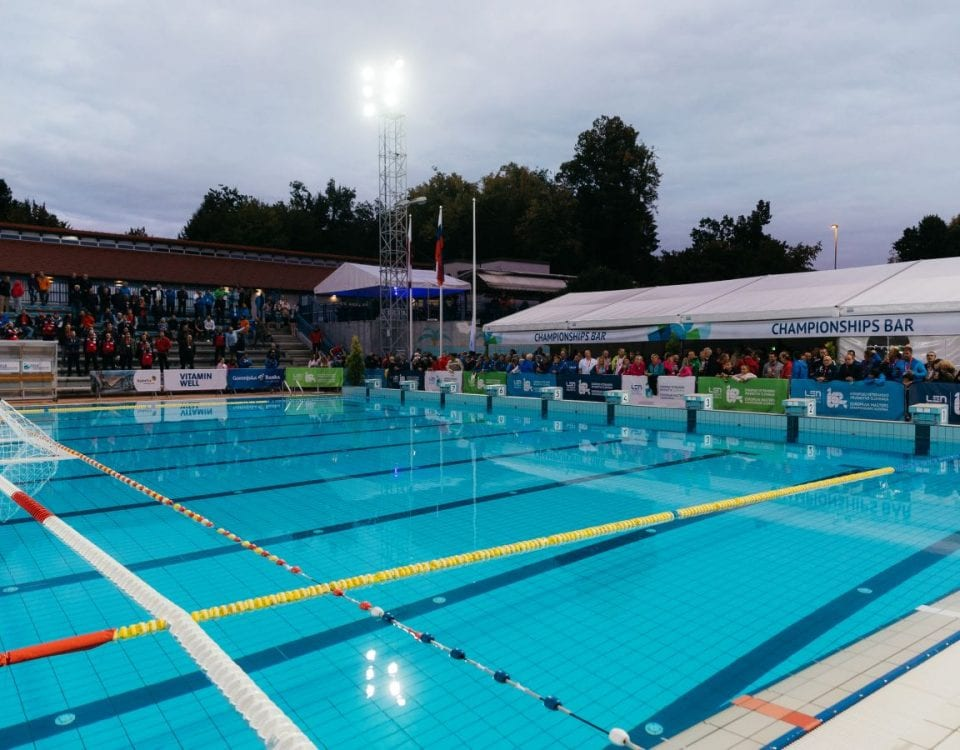 Veterans of Water Polo — Day 2 of 2018 European Masters Championships, Slovenia