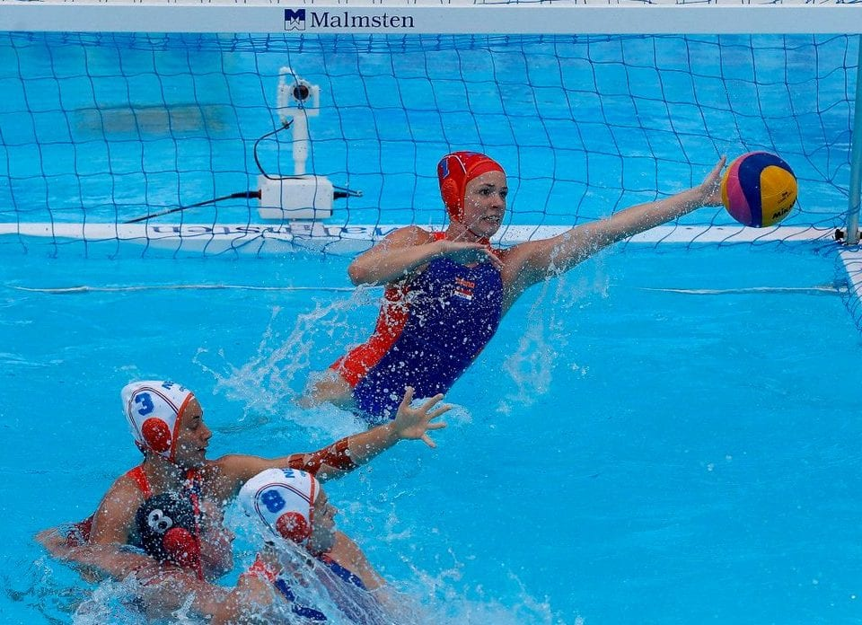 Netherlands - Canada water polo Gwangju