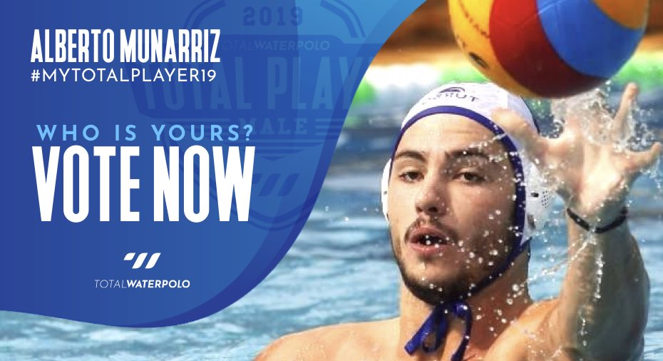 Alberto Munarriz is My TOTAL PLAYER 2019