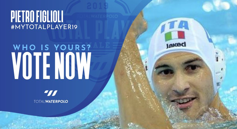 Pietro Figlioli is My TOTAL PLAYER 2019