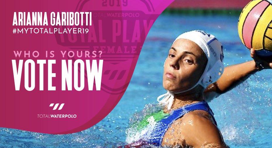 Arianna Garibotti is My TOTAL PLAYER 2019