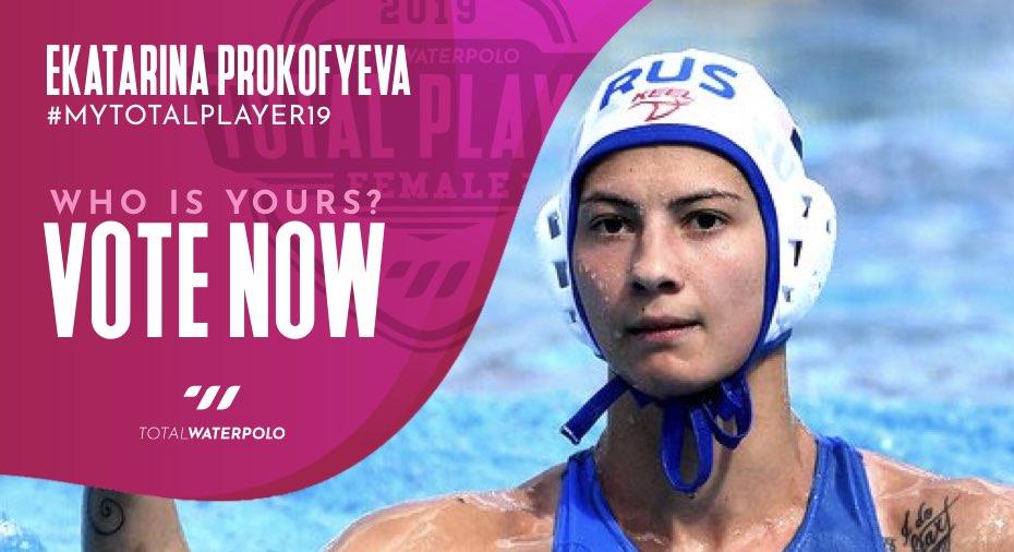 Ekatarina Prokofyeva is My TOTAL PLAYER 2019