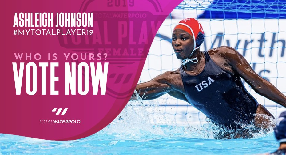 Ashleigh Johnson is My TOTAL PLAYER 2019