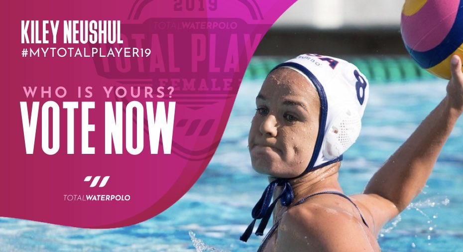 Kiley Neushul is My TOTAL PLAYER 2019