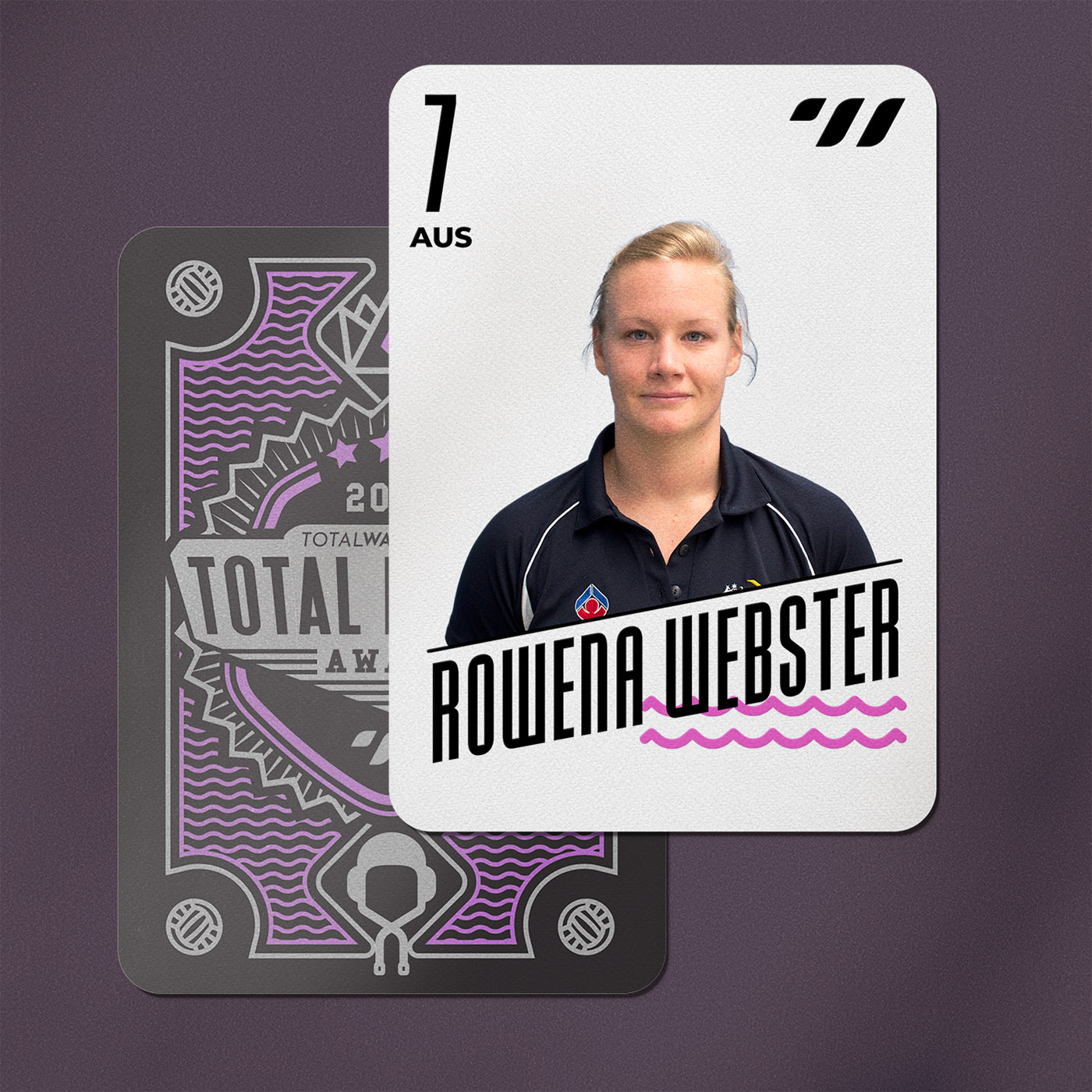 CENTER BACK - Rowena Webster (AUS)
