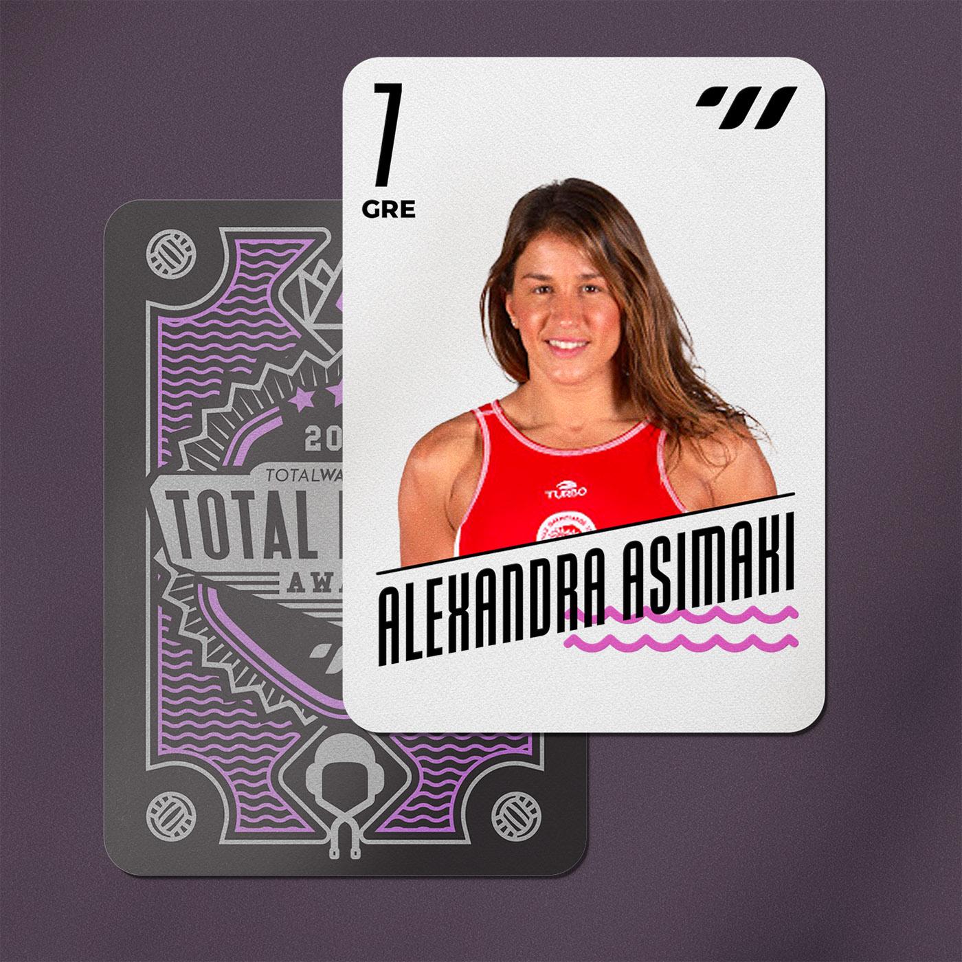 CENTER FORWARD - Alexandra Asimaki (GRE) | Cpt.