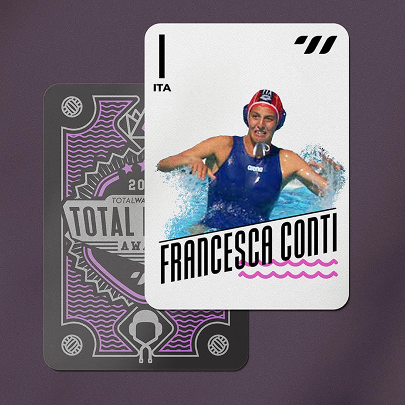 GOALKEEPER - Francesca Conti (ITA)