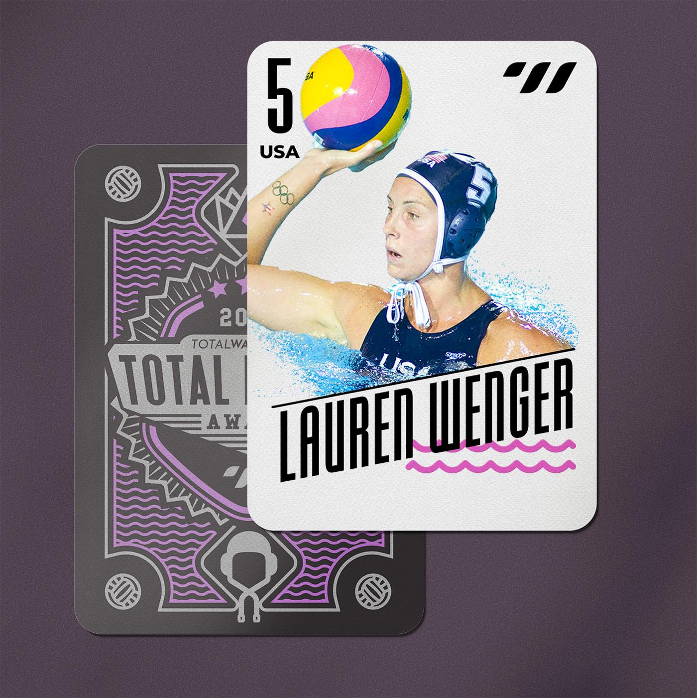 CENTER BACK - Lauren Wenger (USA)