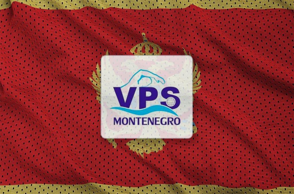 Montenegro flag printed on a polyester nylon sportswear mesh fab