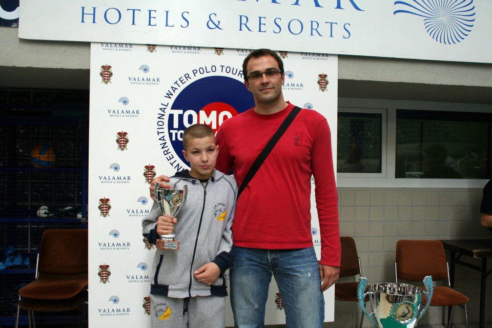 Jerko Jurlina and Frano Vican back in 2013. at Tomo Udovicic Tournament in Dubrovnik