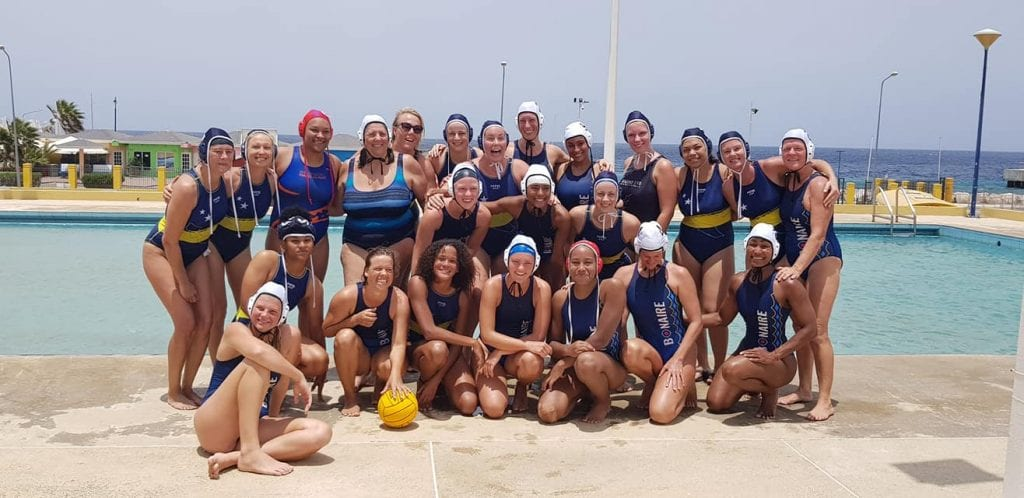 Curacao and Bonaire women's teams