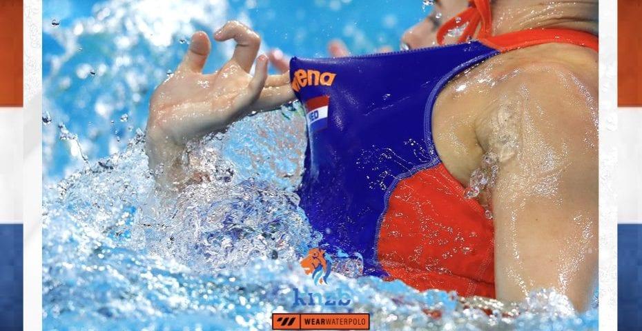 Dutch women's water polo league