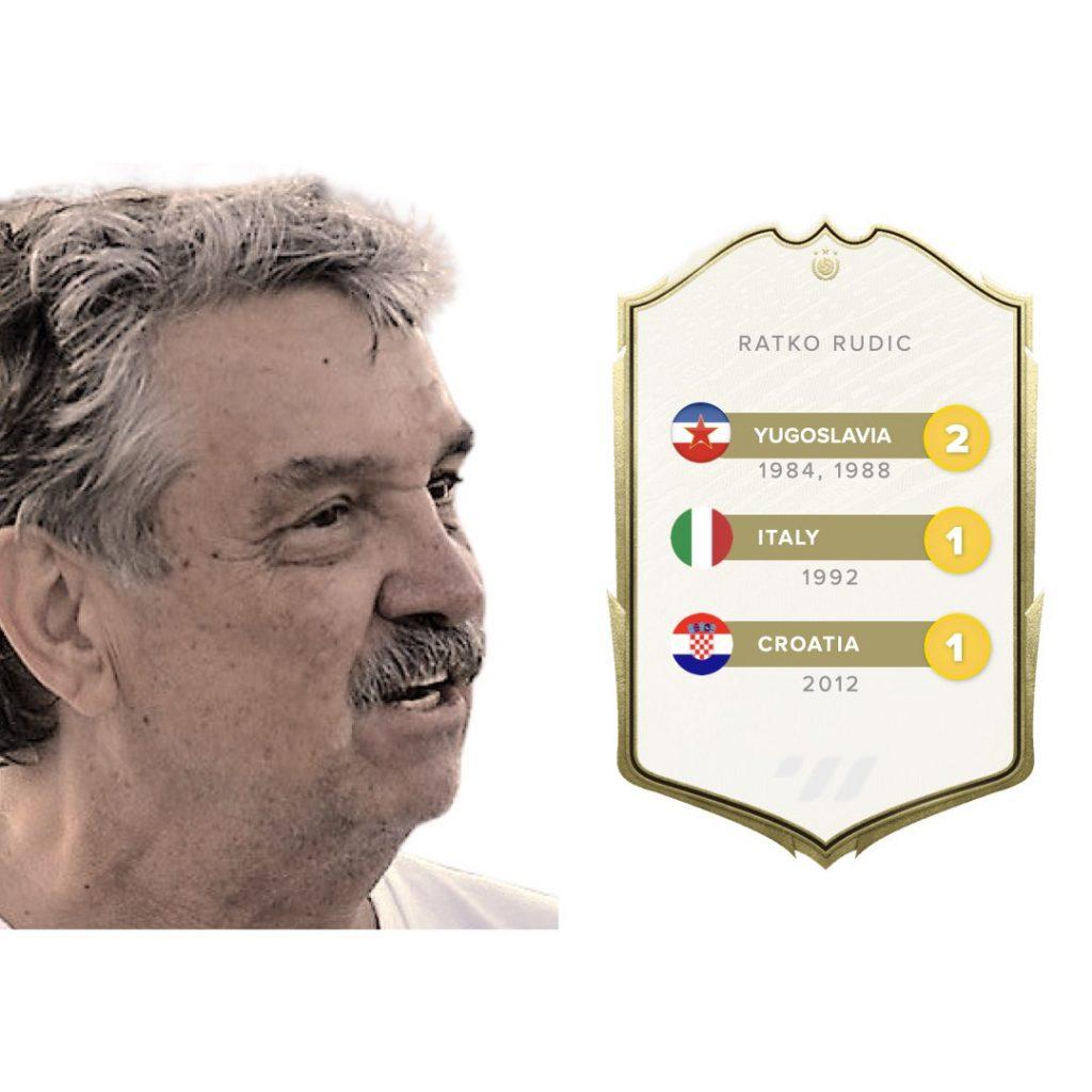 Ratko Rudic Gold Medals
